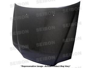 SEIBON Carbon Fiber Hood HD9802HDAC4D-OE Fits: HONDA 1998 - 2002 ACCORD  Sedan
