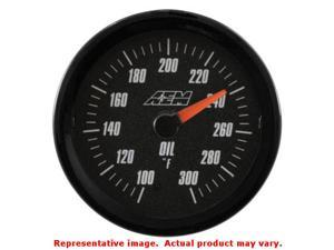 AEM Analog Gauges 30-5140 Range: 100~300F Fits:UNIVERSAL 0 - 0 NON APPLICATION