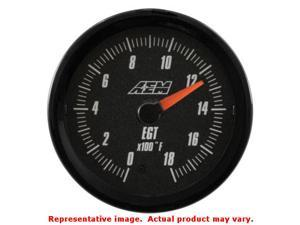 AEM Analog Gauges 30-5131 Range: 0~1800F Fits:UNIVERSAL 0 - 0 NON APPLICATION S