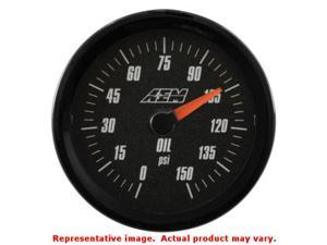 AEM Analog Gauges 30-5135 Range: 0~150psi Fits:UNIVERSAL 0 - 0 NON APPLICATION