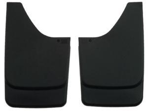 Husky Liners Mud Guards - Custom Molded 56311 Black Front Fits: CHEVROLET 2002