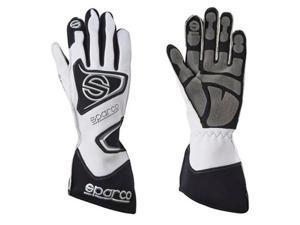 Sparco 0025610BI Tide K-9H Karting Gloves White 10 Fits:UNIVERSAL 0 - 0 NON APP