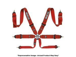 """Sparco 04827BMPDRS 6Point P-3 Belt Red 3"""" Fits:UNIVERSAL 0 - 0 NON APPLICATION"""