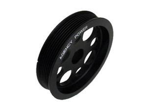 Agency Power Lightweight Crank Pulley AP-SCTC2-130B Black Fits:SCION 2011 - 201