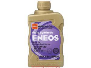 ENEOS EN-0W20 Motor Oil Fits:UNIVERSAL    0 - 0 NON APPLICATION SPECIFIC   