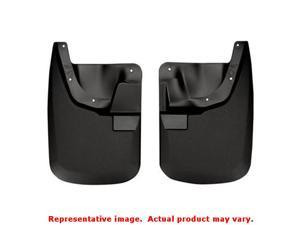 Husky Liners 56681 Black Custom Molded Mud Guards   FITS:FORD 2011 - 2014 F-250