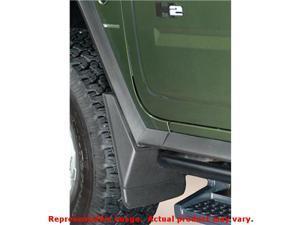 Black Husky Liners # 56361 Custom Molded Mud Guards   FITS:HUMMER 2003 - 2009 H