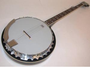 Oscar Schmidt OB5 5-String Banjo, Remo Head, Mahogany Resonator, Gloss Finish