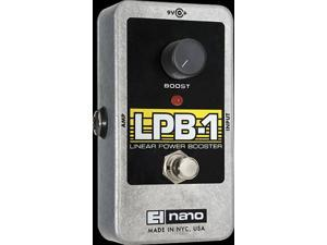 Electro-Harmonix LPB-1 Linear Power Booster Preamp, Guitar Effects Pedal, NLPB1