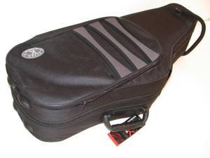 Kaces Polyfoam Tenor Saxophone Case, Lightweight, 1200D Nylon Covers, KBF-TS1