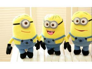 3pcs/lot Despicable Me Movie Plush Top 19inch Minion 3D eye baby Educational Toys