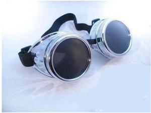 CYBER GOGGLES STEAMPUNK WELDING GOTH COSPLAY VINTAGE GOGGLES RUSTIC Hot New