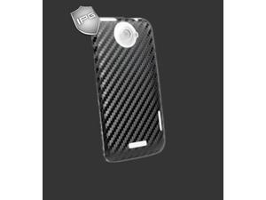 IPG HTC One XL / X+ BLACK Carbon Fiber BACK  Skin Protector 3D Sticker