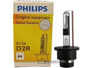 Philips D2R OEM HID Xenon 35 Watt 5000K Standard Headlight Replacement Bulb