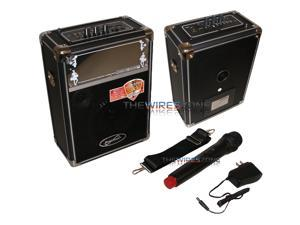 Supersonic SC-2300 Professional Portable 500 Watt Active Speaker with USB/Micro SD Input