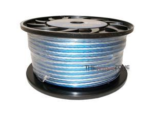 Bullz Audio BPS14.300PB Blue & Silver 300 Feet 14 Gauge Speaker Wire for Home/Car Audio