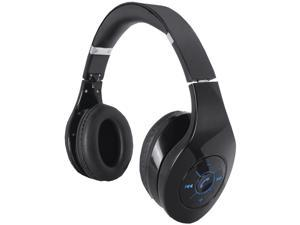 Supersonic IQ-125BT Black Wireless Bluetooth Headphone with Speakerphone