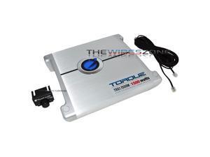 Planet Audio TRQ1.1500M Torque Series Class AB Monoblock 1500 Watt Car Amplifier