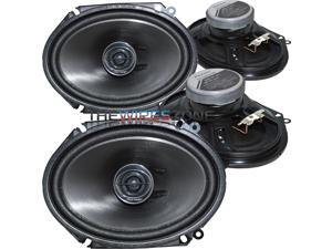 pioneer 6x8 speakers. pioneer ts-g6845r 2-way 6\ 6x8 speakers
