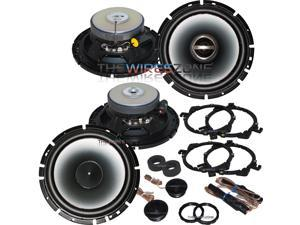 "Alpine 6.5"" 2-Way 960 Watt Car Audio Coaxial Component Speaker (2 pairs) 960W"
