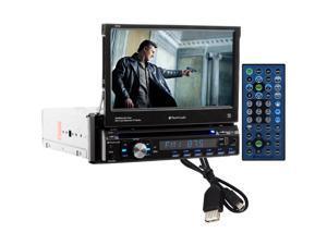 "Planet 7"" Sdin Touchscreen Monitor Bluetooth Dvd/Cd Usb/Sd P9756"