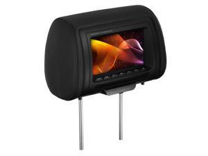 "Planet Audio PH7MCS Mobile/Video Universal Headrest 7"" Screen Monitor w/ Remote"