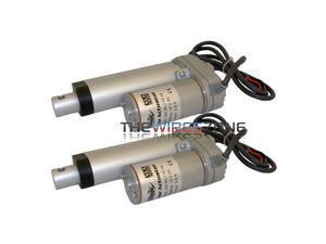 "Xscorpion XLA02 Heavy Duty 12 Volt DC 100lbs Push/Pull 2"" Linear Actuator (pair)"