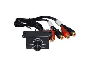 BLC-3 Universal Wired Bass Remote Level Control Knob for Car Amplifiers Amp Sub
