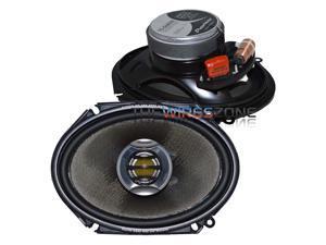 """Pioneer TS-D6802R 2-Way 6"""" x 8"""" 260 Watts Flush-Mount Car Speaker (pair) 6x8"""""""