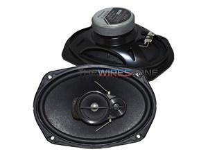 "Pioneer TS-A6966R 3-Way 6"" x 9"" 420 Watts Flush-Mount Car Speaker (pair) 6x9"""
