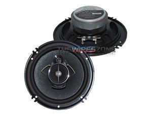 """Pioneer TS-A1676R 3-Way 6.5"""" or 6.75"""" 320 Watts Car Speaker (pair) 6-1/2"""" 6-3/4"""""""
