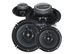 "Pioneer TS-A1676R 3-Way 6.5"" or 6.75"" 320 Watts Car Speaker (2 pairs) 320W"