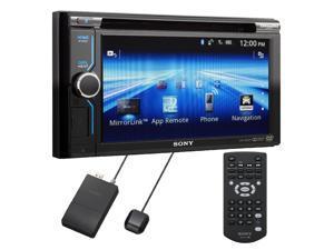 "Sony XAV-602BT 6.1"" Double DIN Bluetooth DVD Car Receiver + Navigation Module"