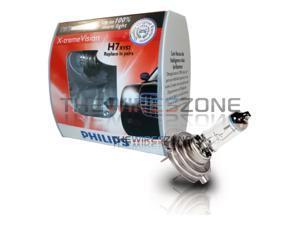 Philips X-treme Vision H7 55 Watts 12V Halogen Car Headlight Bulb (pair) 12 Volt