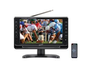 "Supersonic SC-499 9"" Widescreen Portable Digital LCD TV with Built-in TV Tuner"