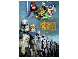 Star Wars: The Clone Wars Seasons 1-5 Collectors Edition DVD
