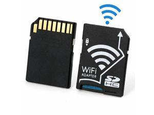 WiFi SD Adapter Micro SDHC TF Flash Card To SD Card Wireless Adapter For Apple IOS Android WiFi