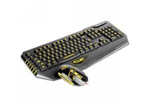 Dare-u USB Wired LED Gaming Mouse Keyboard Combo Set