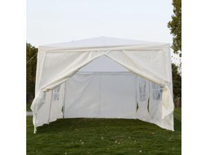 Canopy tent carport 10 X 20-feet Domain Carport with sidewalls, (white)