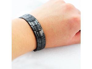 Titanium Magnetic Energy Germanium Armband Power Bracelet Health Bio 4in1