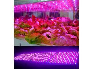 LEDwholesalers 2501MX Blue/Red 225 LED 13.8 Watt Square Grow Light Panel 110 Volt