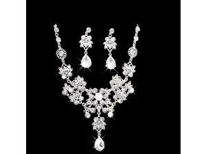 Hot Sale Noble Crystal Bridal Jewelry Sets Fashion Wedding Jewelry