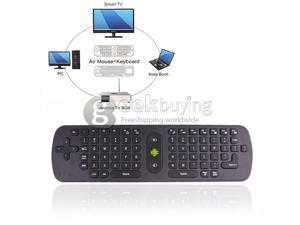 Geek Buying measy air mouse keyboard 2.4G wireless for PC ANDROID tv box smart tv note book RC 11