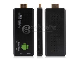 Geek Buying US Plug QC802 MK809III Google Android 4.2 Quad Core RK3188 ARM Cortex-A9 1.6GHz Mini PC TV Box 2G/8G BT Black (In American warehouse and estimated delivery dates are about 5 days)