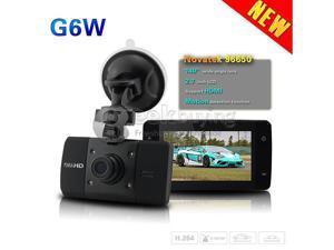 "Geek Buying G6W Novatek H.264 1920*1080P 2.7"" 140 Degrees Angle Lens Car DVR with Motion Detection IR Night Vision G-sensor Black"