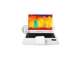 Geek Buying Removable Bluetooth Touchpad Keyboard for Samsung Galaxy Note 10.1 Inch 2014 Edition - White
