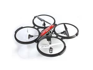 4-CH 2.4GHz Remote Control Quadcopter - Gyro/LED Light RTF/HD Video Camera