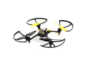 4-CH 2.4GHz 6-axis Gyroscope Remote Control Quadcopter UFO - Yellow