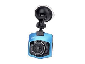 GT300 1080P 2.4inch Car Dashcam Video Recorder Generalplus 1248 CMOS Image Sensor 120 Degree View Angle Car DVR - Blue