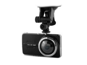 Y900 4.0 Inch LCD Screen 1080P Novatek 96658 Car Camera 170 Degree Wide Angle HDR H.264 G-sensor Car DVR Dashcam - Black